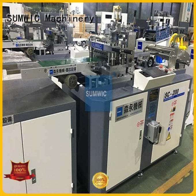 SUMWIC Machinery Brand line cut to length machine speed factory