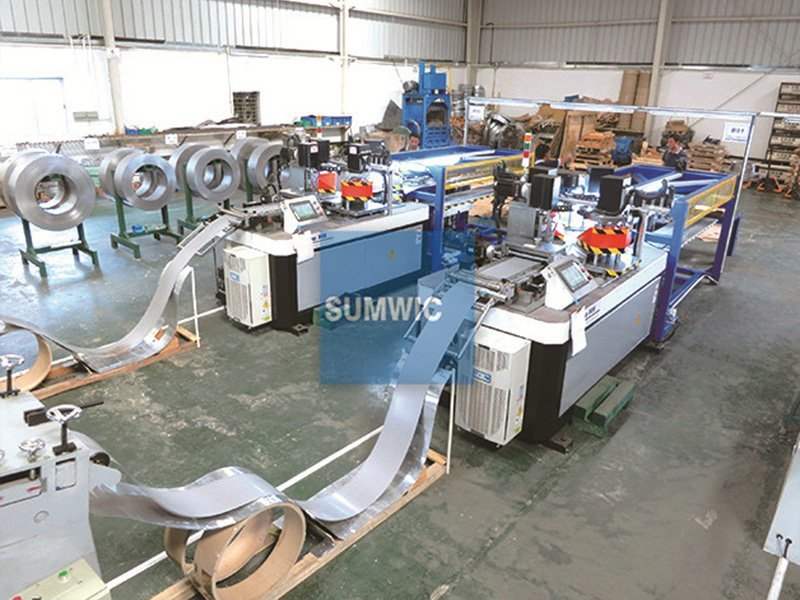 Two sets lamination core cutting line in Bangalore, India