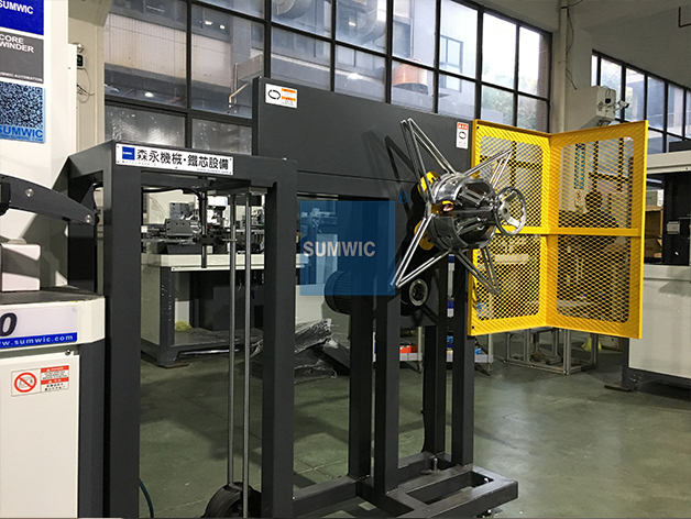 SUMWIC Machinery Brand winder width ct custom toroidal core winding machine