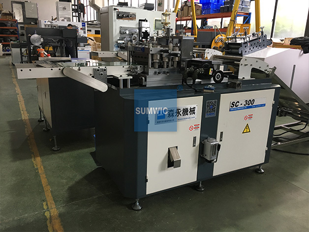 Silicon Strip Cutting Machine with High Speed SUMWIC SC-300