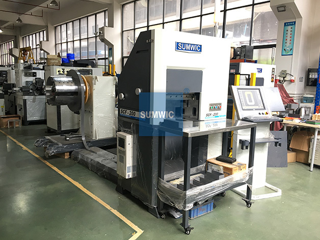 Wound Core Folding and Cutting Machine for Single Phase or Three Phase Transformer SCF-200