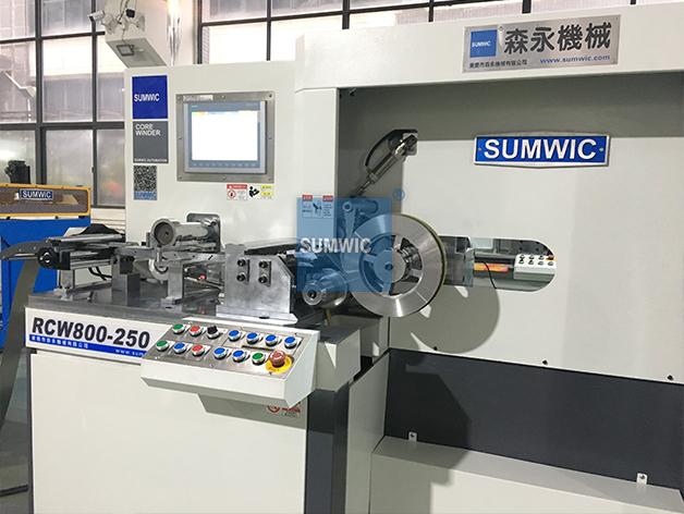 SUMWIC Machinery Brand opens wound making transformer core machine