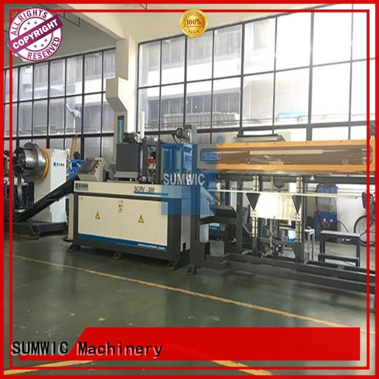 cut to length line machine core cutting line SUMWIC Machinery Brand