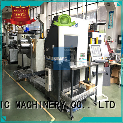 folding core winding machine transformer SUMWIC Machinery company