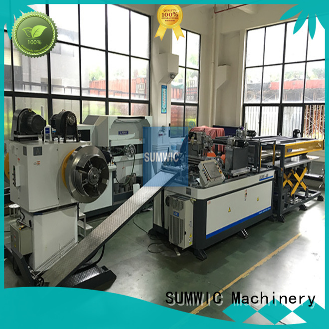 Hot machine cut to length line machine step SUMWIC Machinery Brand