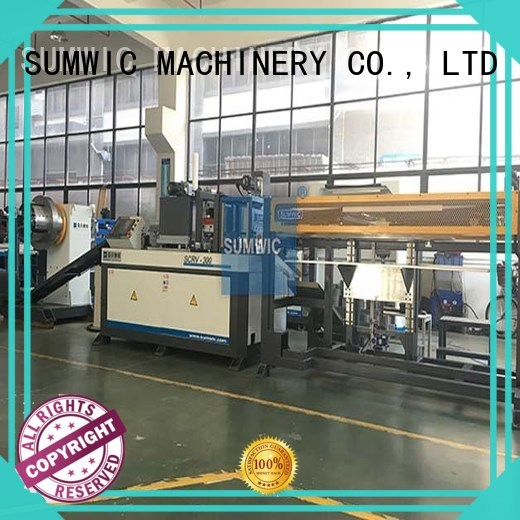 steplap core cutting machine line SUMWIC Machinery company