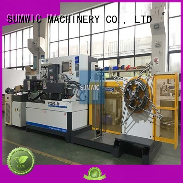 transformer sheet toroidal core winding machine width making SUMWIC Machinery Brand