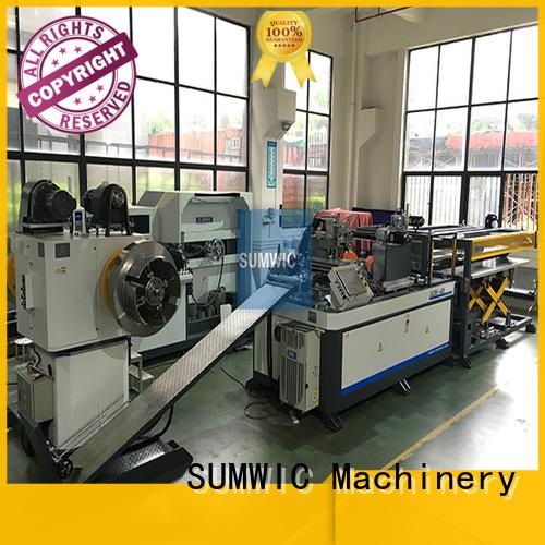 transformer line cut to length line machine steplap lap SUMWIC Machinery Brand