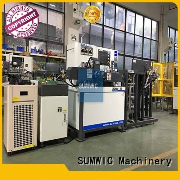 winders automatic core toroidal winding machine SUMWIC Machinery