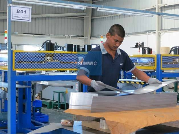 Step Lap Core Cutting Line for Distribution Transformer SUMWIC SCRV-300