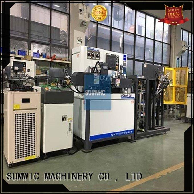 current crgo automatic OEM toroidal winding machine SUMWIC Machinery