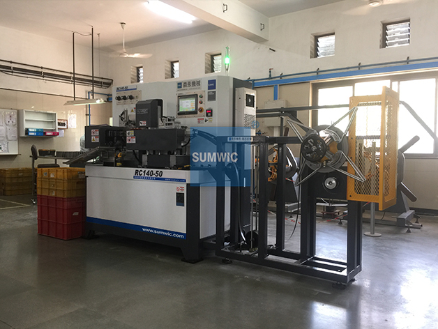 SUMWIC Toroidal Core Winding Machine with Automatic Running RC140-50