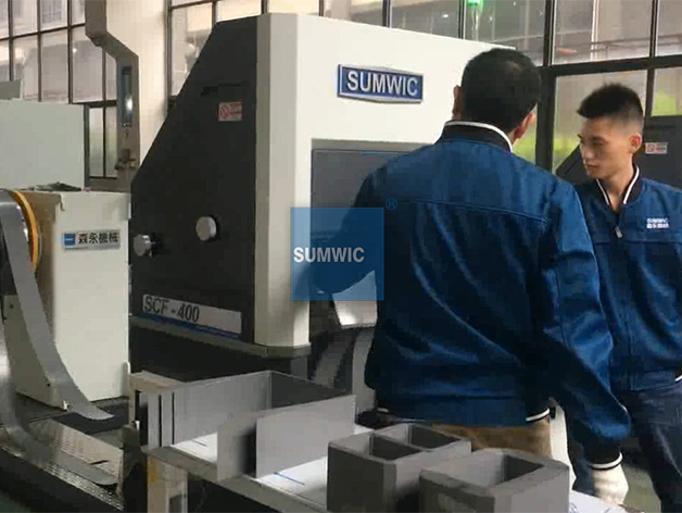Wound Core Folding and Cutting Machine for Unicore SCF-400