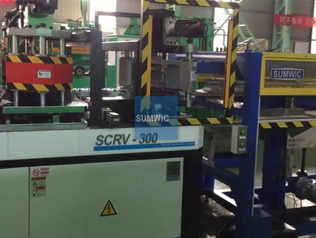 Automatic Step Lap Core Cutting Line for 45 Degree or 90 Degree laminations
